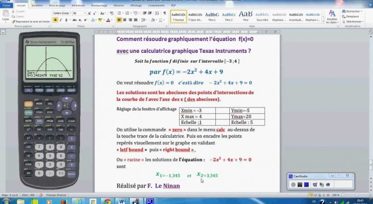 comparatif calculatrice